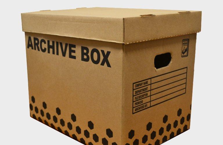 Archive Boxes Carton Manufacturers Ltd